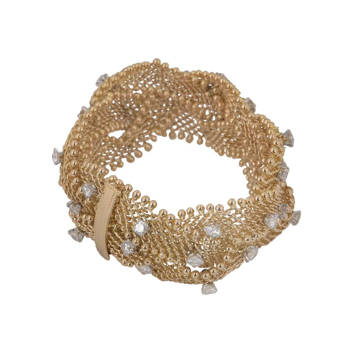 Rose Gold Diamond Bracelet